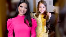 La hija de Ana Patricia se corta 10 pulgadas de cabello para donarlo a los niños enfermos