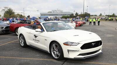 Ford construyó el Mustang número 10 millones