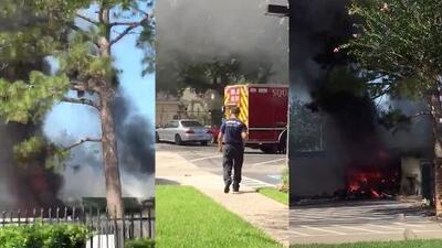 Accidente aéreo al oeste de Houston deja una persona muerta