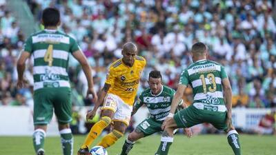Cómo ver Tigres vs. Santos Laguna en vivo, por la Liga MX 2 febrero 2019