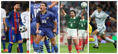 Día del Zurdo: 25 piernas izquierdas ilustres en el futbol