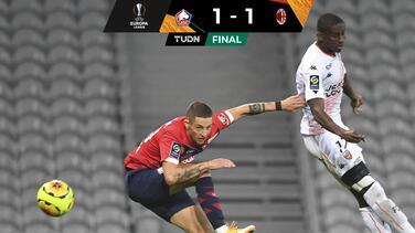 Lille y Milan dividen dividen puntos en el Grupo H