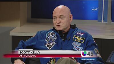 El astronauta Scott Kelly quiere ir a las islas de las Bahamas