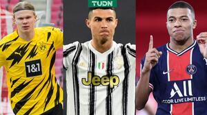 ¿Los mejores? Cristiano Ronaldo se emociona con Mbappé y Haaland