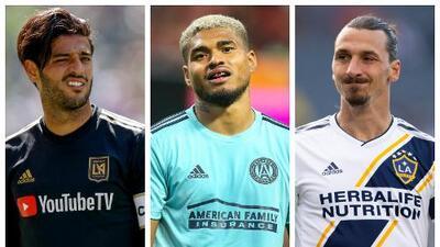 Carlos Vela y Zlatan Ibrahimovic no quitan la mira del récord de goles de Josef Martínez