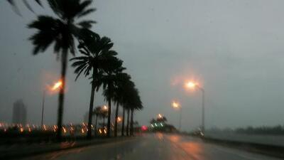 Este martes se mantienen las tormentas y las posibilidades de inundaciones en Miami