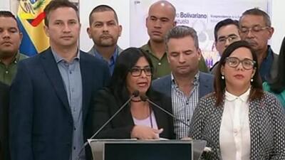 """Sin mostrar pruebas, gobierno de Maduro dice que la ayuda humanitaria está """"envenenada"""" y es """"cancerígena"""""""