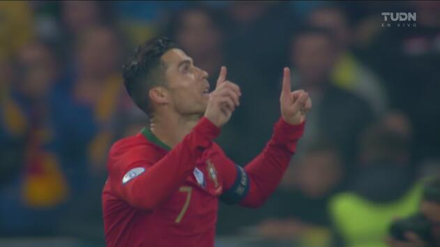 ¡Goooool de Portugal! Llegó el 700 de Cristiano Ronaldo