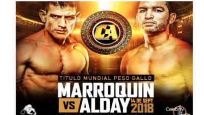 Levy Marroquín se medirá a José Alday en la primera pelea por título de Combate Américas