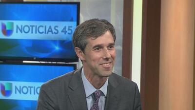 El demócrata Beto O'Rourke sigue en campaña para llegar al senado