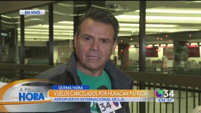 Angelinos viven angustia por el Huracán Patricia
