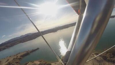 Explorando Arizona: conoce Lake Havasu desde las alturas en un 'ultraligero'
