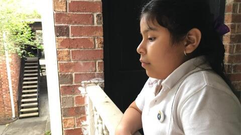La lucha de una familia para que se reconsidere la orden de deportación de una niña salvadoreña de 11 años