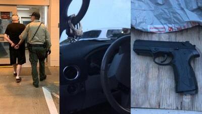Detenido por hacerse pasar por un agente de ICE y robar a trabajadores en California