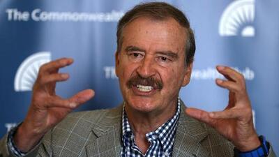 Vicente Fox revela lo que, según él, tienen AMLO y Trump en común y dice por qué se deben legalizar algunas drogas