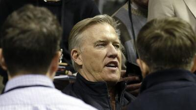John Elway: Peyton tendrá todo el tiempo que necesite para una decisión