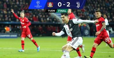 'CR7' e Higuaín dan triunfo a la Juve y eliminan al Leverkusen