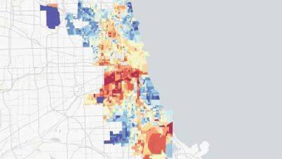 Un mapa interactivo confirma que oeste y sur de Chicago son los más afectados por la contaminación