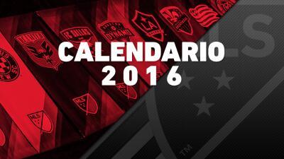 Se anuncia el calendario completo de la temporada 2016 de la MLS con mayor cobertura en TV