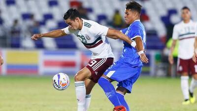 El Tri Sub-21 cae ante El Salvador y está casi eliminado de Barranquilla 2018