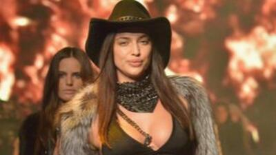 ¡No te pierdas el último desfile de Irina Shayk, la novia de Cristiano Ronaldo!