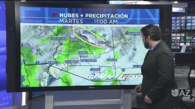 ¿Habrá lluvia los próximos días en Arizona? ¿Bajarán las temperaturas?