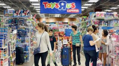 La tienda de juguetes Toys 'R' Us se une a la epidemia de bancarrotas en EEUU