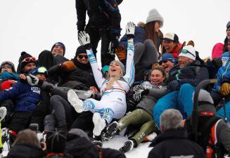 Así fue el último día como profesional de Lindsey Vonn como la reina del esquí mundial