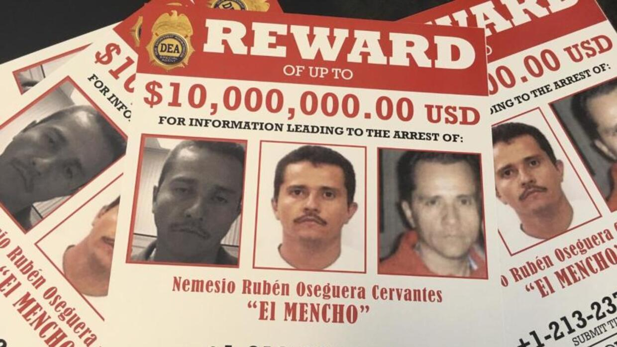 'El Mencho' is the new Chapo Guzman, hiding out in the mountains of Mexico, DEA says