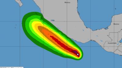 La tormenta tropical Ileana se forma en el Océano Pacífico, en el sur de México
