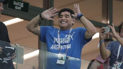 Maradona es el nuevo técnico de Gimnasia y Esgrima de la Plata
