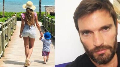 """""""Lamentablemente, no lo extraño"""": Julián Gil sobre su hijo Matías"""