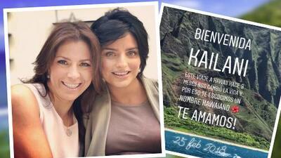 """Te admiro tanto. Serás la mejor mamá del mundo"": así felicitó Alessandra Rosaldo a Aislinn Derbez"