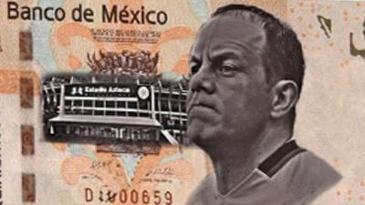 Proponen a Cuauhtémoc Blanco para el billete mexicano de 500 pesos