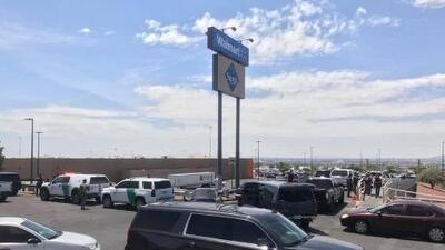 Tiroteo en Walmart en El Paso, Texas deja al menos 20 víctimas fatales