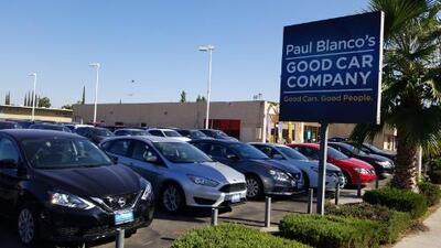Fiscal de California demanda a automotora Paul Blanco por supuestamente estafar a clientes de bajos ingresos