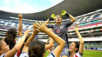 Blanca Félix contó cómo se convirtió en la estrella de la portería del Chivas femenil