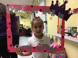 Estos son algunos de los 345,000 niños que comenzaron clases hoy en Miami: ¿está la foto de tus hijos aquí?