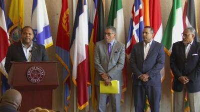 Reunión del grupo de trabajo contra el crimen en Dallas
