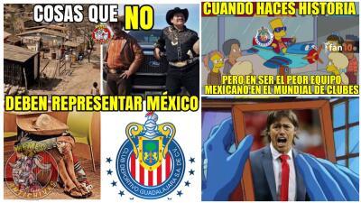 Memelogía | De vergüenza y algo más: las burlas que destrozan a Chivas por su 'Mundialito'