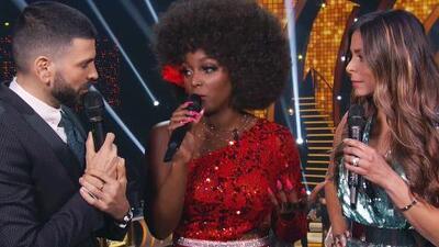 Amara 'La Negra' le confiesa a Jomari si cree que era injusto competir contra Clarissa en Univision