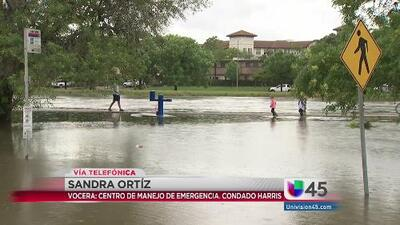 Ríos y lagos de Houston, una preocupación ante el clima severo