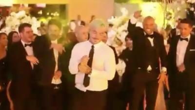 J Balvin publica el video de su caída en la boda de Nicky Jam