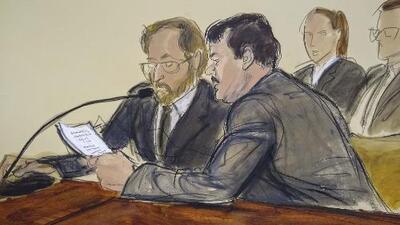 'El Chapo' asegura que no se le hizo justicia: criticó al jurado y al juez que lo sentenció
