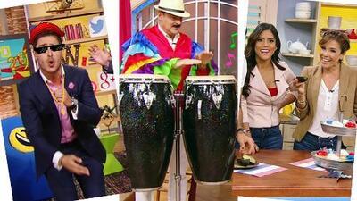 Esta semana: Un reggaetonero debutó en Despierta y nos divertimos con un duelo de timbales