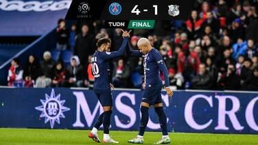El PSG derrota al Amiens y sigue dominando en Francia