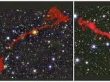 Descubren dos galaxias gigantes, 62 veces más grandes que la Vía Láctea