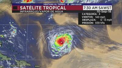 Huracán Florence avanza hacia Carolina del Norte y Carolina del Sur