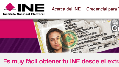 Inmigrantes mexicanos solicitan credencial de elector en