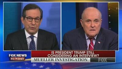 """Sobre mi cadáver"" entrevistará Mueller a Trump: así reta Giuliani al investigador especial"